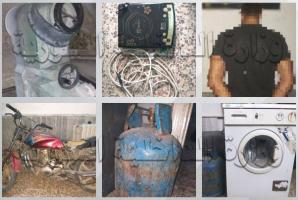 القبض على أحد أفراد عصابة سرقت منازلا في مصياف