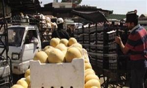 ارتفاع أسعار الخضار 25% في أسواق دمشق