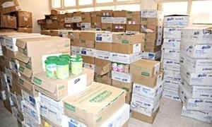إجراءات لمحاسبة مروجي مواد الإغاثة المبيعة