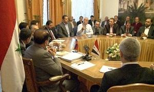 رجال أعمال سوريون يبحثون تنشيط العمل التجاري مع روسيا