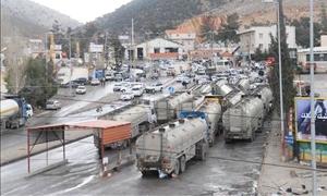 انخفاض المعاملات الجمركية الحدودية السورية اللبنانية بنسبة 6.58% في 11 شهر..وأجرة سائق البر ترتفع لـ4 آلاف دولار