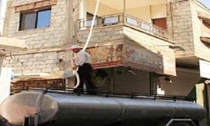 محافظة ريف دمشق تُشكل خلية أزمة لمعالجة نقص مياه الشرب في صحنايا
