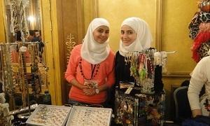 معاون وزير السياحة يفتتح بازار زمان الخير في دمشق