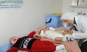 وزير الصحة: 17 حالة شلل أطفال جديدة في سورية.. اطلاق حملة التلقيح الثالثة ضد مرض شلل الأطفال