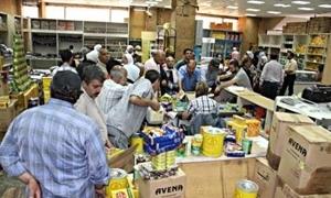 انخفاض الشكاوى التموينية في دمشق..و1665 ضبطاً منذ بداية العام
