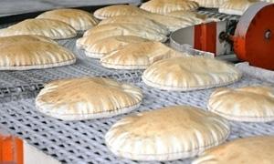 خط إنتاج جديد في مخبز الضاحية بحمص
