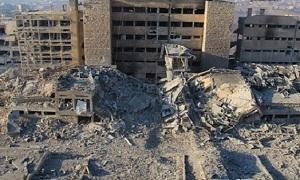 أضرار مشفى الكندي في حلب 3 مليارات ليرة