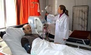 300 غالون حمض مجهول المنشأ يعطل أجهزة الكلية في المشفى الوطني بحماة