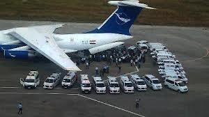 مطار القامشلي يستقبل الطائرة الخامسة عبر الجسر الجوي