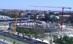 محافظة دمشق: إنجاز مرحلة بناء الهيكل في مشروع مسار