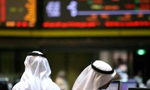 مؤشر دبي يرتفع بفضل سهم أرابتك والانخفاض يعم بورصات الخليج