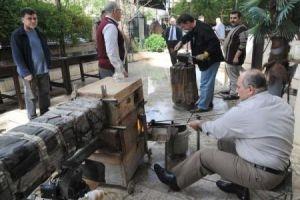 انطلاق المعرض الأول للصناعات الحرفية التراثية في دمشق