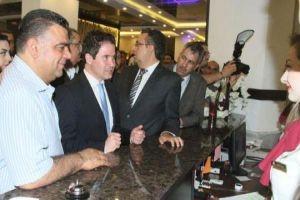 وزير السياحة يفتتح فندق رويال إن في طرطوس