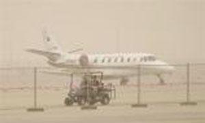 إغلاق معرض دبي للطيران بسبب الرياح والأمطار الغزيرة