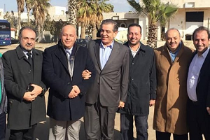 وفد المقاولين الأردنيين يصل دمشق لبحث  المساهمة في ( إعادة الإعمار سورية )