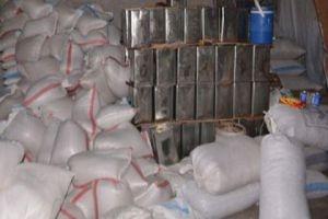 مصادرة 64 طناً من المواد الغذائية الإغاثية في مستودعات مخالفة بدمشق