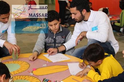 جمعية قرى الأطفال SOS  سورية ومشروع مسار يفتتحون مركز