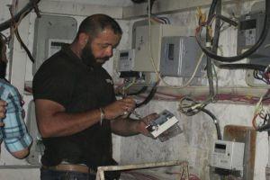 الكهرباء تطلق حملة لتركيب العدادات الالكترونية في دمشق