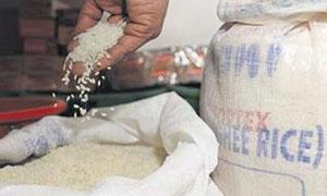 انخفاض وسطي سعر الرز بنسبة 2.6% والسكر  11.1%مع نهاية تموز 2012