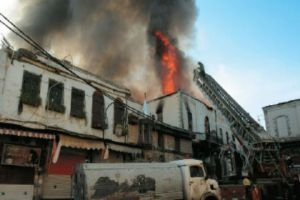 غرفة تجارة دمشق: آلية تعويض متضرري سوق العصرونية مشكلة تحتاج إلى حلول