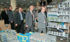 افتتاح صالتين للاستهلاكية في دمشق..وحسومات