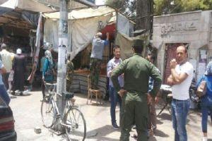 محافظة دمشق تكافح الورش والبسطات