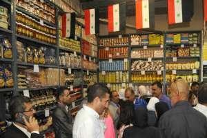 افتتاح صالتين استهلاكيتين في مشفى المواساة ومكتبة الأسد