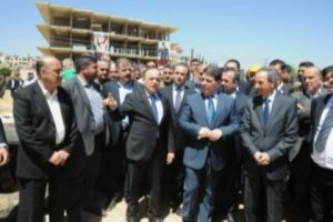الحلقي يضع حجر الاساس لمشاريع خدمية بقمية 4 مليارات ليرة في ريف دمشق
