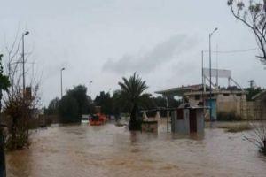 مجدداً.. المنطقة الصناعية في طرطوس تغرق مجدداً الأمطار