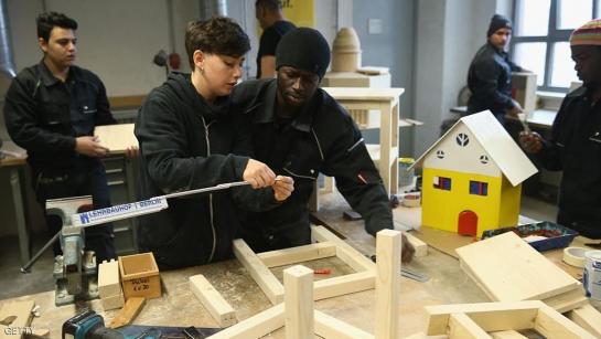 بسبب اللاجئين.. قطاع البناء يزدهر في ألمانيا