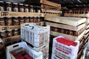 في ريف دمشق..ضبط معمل لإنتاج المواد الغذائية مخالف للشروط الصحية