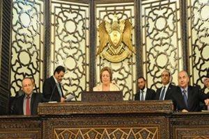 مجلس الشعب السوري يختارون هدية عباس كأول امرأة لرئاسة السلطة التشريعية في الوطن العربي