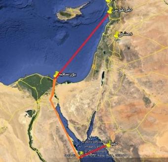 40  شاحنة تفاح على متنها.. إنطلاق أول عبّارة حاملة للشاحنات السورية من ميناء طرطوس إلى مصر