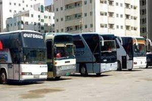 شركة نقل تقوم برفع تذكرة السفر 300 ليرة دون موافقة حكومية!!