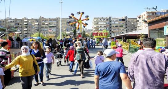 محافظة دمشق تحدد 15 موقعاً للألعاب الأطفال خلال فترة عيد الفطر السعيد