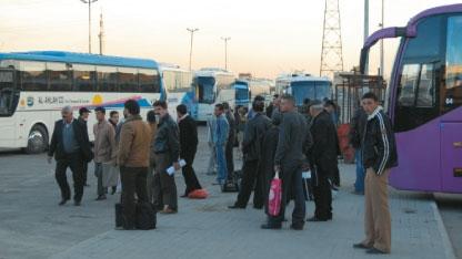 عشرة آلاف ليرة تكلفة الراكب من حلب إلى دمشق