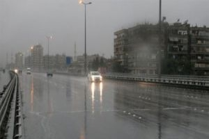 سورية تتعرض لمنخفضين جويين في أسبوع واحد