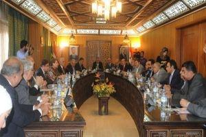 تجار دمشق يبحثون مع وفد من البرازيل تعزيز التعاون الاقتصادي والتجاري