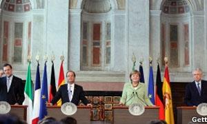 الدول الأوروبية الكبرى ترسم خطة تعزيز النمو الاقتصادي