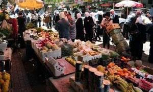 5.53 نقاط ارتفاع مؤشر المستهلك السوري في حزيران الماضي
