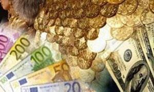 الذهب ينهي أسبوعه على انخفاض مفاجئ.. والدولار واليورو في السوداء شبه مستقران