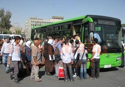 خطوة تحتاج للتعميم .. بطاقات مسبقة الدفع لباصات النقل الداخلي في حمص