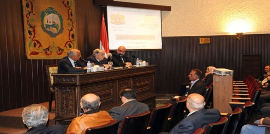 في ندوة غرفة تجارة دمشق..   القلاع: إجراءات وزارة التموين و المركزي بتمويل المستوردات تسبب