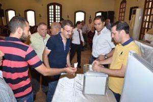 صناعة حلب تنتخب اأعضاء مجلس ادارة المدينة الصناعية الشيخ نجار