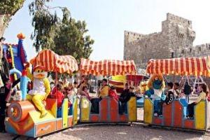 تحديد مواقع ألعاب الأطفال خلال عيد الفطر السعيد