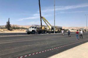 النقل: طريق حرستا حمص في الخدمة يوم الثلاثاء