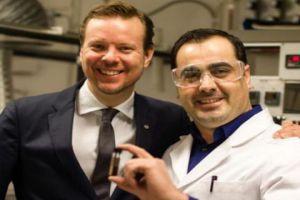 سوري يشغل السويد باختراعه مادة فريدة عجز عنها العلماء لعقود