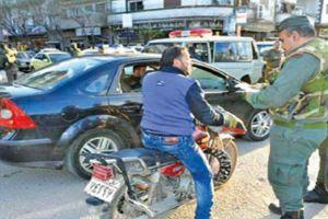 حملة لمصادرة الدرجات النارية غير المرخصة في دمشق