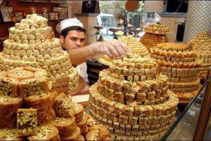 دمشق تستهلك 80 طناً من الحلويات خلال العيد