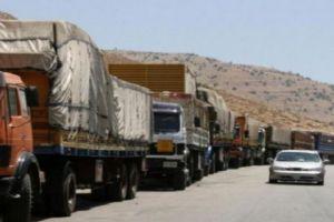 الأردن يوافق على عبور الشاحنات السورية الفارغة عبر أراضيه بشرط!